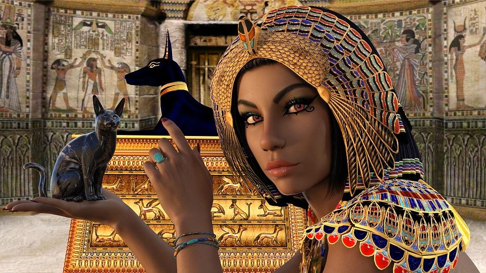 El peinado en egipto