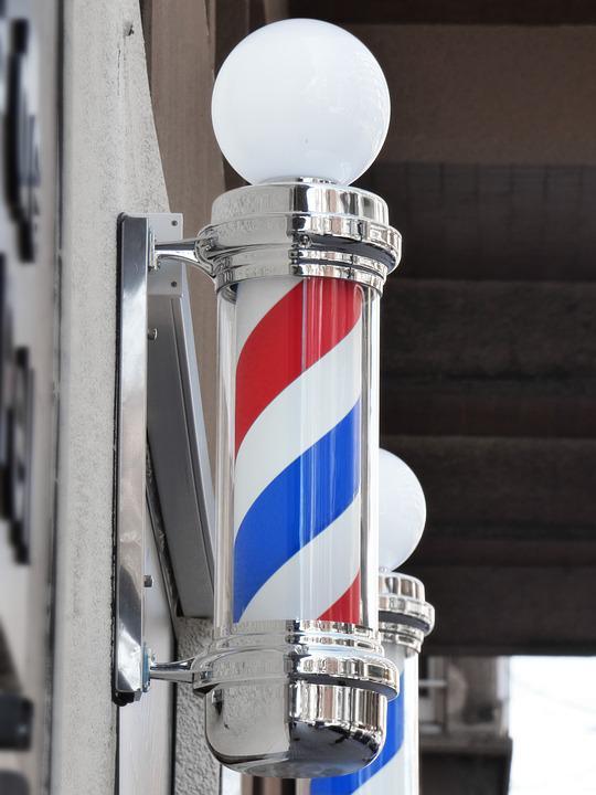 Poste barbero, barberia, logo barberia